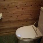 バンガロー(ロフト付)トイレ