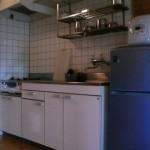 バンガロー(ロフト付)キッチン