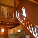バンガロー(ロフト付)階段